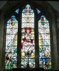 Image for Stained Glass, St Cuthbert's Church, Aldingham, Cumbria, UK