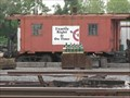 Image for Red TRRA caboose - Granite City, IL