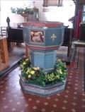 Image for Baptism Font, St John the Baptist - Needham Market, Suffolk