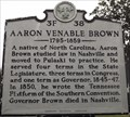 Image for Aaron Venable Brown,3F 38,  Pulaski, Giles County, Tennessee