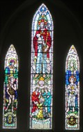 Image for Faith , Hope & Charity - St Celler Church - Llangeller, Carmarthenshire, Wales.
