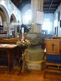 Image for Font in St Mary's Church, Callington. Cornwall