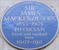 Image for Sir James MacKenzie - Bentinck Street, London, UK