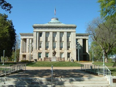 North carolina state capitol u s national register of for Historical buildings in north carolina