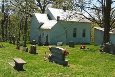 and cemetery