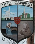 Image for Village Sign, Little Canfield, Essex, UK