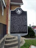 Image for Goliad's First United Methodist Church receives historical marker - Goliad, TX
