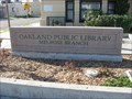 Image for Melrose Branch Library - Oakland Public Library - Oakland, CA