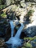 Image for Sunrift Gorge Falls- Glacier National Park