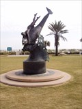 Image for Sea Express, Bronze Statue,Jacksonville Beach, Florida