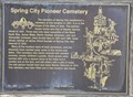 Image for Spring City Pioneer Cemetery ~ 443