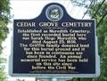 Image for Cedar Grove Cemetery - Alabaster, AL