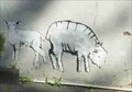 Image for Sheep Graffiti, Leominster, Herefordshire, England