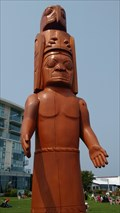 Image for WSANEC Welcome Totem, Sidney BC