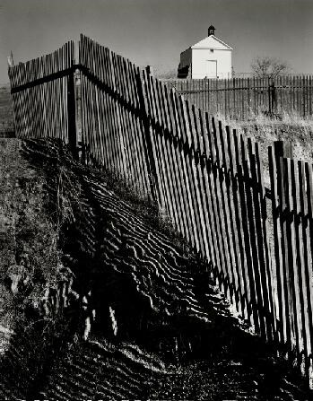Ansel Adams - The White Church, Hornitos, California,1946  found at Norton Simon Museum website:  http://www.nortonsimon.org/collections/browse_artist.php?name=Adams%2C+Ansel&resultnum=8