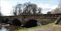 Image for Stone Cheadle Bridge Over River Mersey - Cheadle, UK