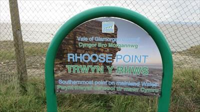 Rhoose Point - Public Access Land