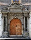"""Image for Portál domu  c.p. 173 """"U Mramoru"""" / Portal of house N° 173  """"U Mramoru"""" - Kutná Hora (Central Bohemia)"""