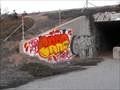 Image for Fort Ord Dunes graffiti - Marina, California