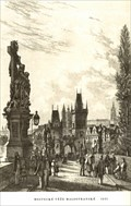 Image for Statuary of St. Luthgard by Vincenc Morstadt - Prague, Czech Republic