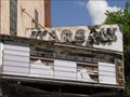 Image for Warsw Theater Marquee, Warsaw, Illinois.