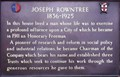 Image for Joseph Rowntree - Bootham, York, UK