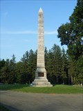 Image for Preservation of the Union Monument, Bath, NY National Cemetery