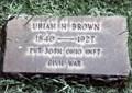 Image for Uriah H. Brown-Paris, PA