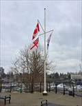 Image for Ship Point Plaza Flag Pole - Victoria, British Columbia, Canada