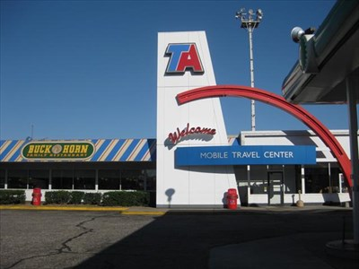 Ta Truck Service >> TA Travel Center, Mobile, AL - Truck Stops on Waymarking.com