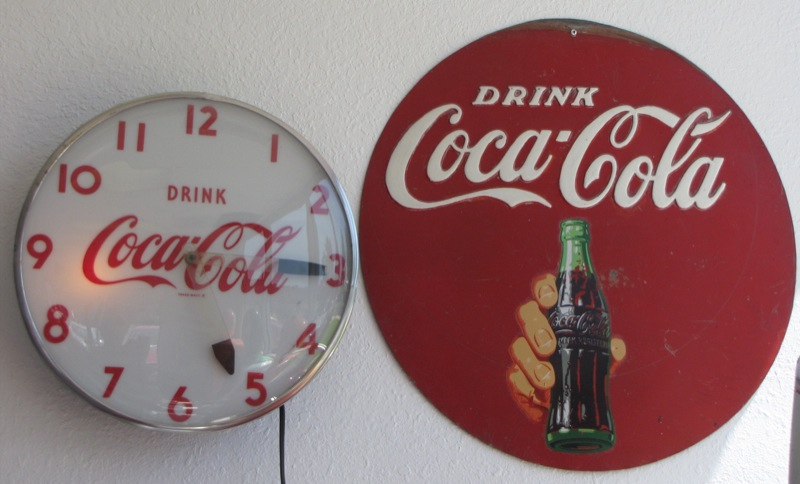coca cola clock coca cola collection bodylines body shop san jose california