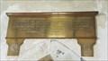 Image for Lt. Charles Penruddocke plaque - St Michael - Compton Chamberlayne, Wiltshire