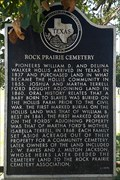 Image for Rock Prairie Cemetery