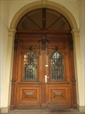 Image for Two doors at the former Landratsamt, Wilhelmstraße 24, Ahrweiler - RLP / Germany