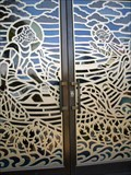 Image for Stained Glass Doors @ St. Peter Roman Catholic Church - Merchantville, NJ