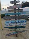 Image for Directional Marker - Wyndham Reef Resort - Cayman Islands