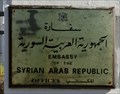 Image for Syrian Embassy - Prague, Czech Republic
