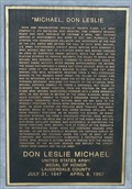 Image for Don Leslie Michael Memorial - Florence, AL
