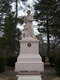 Image for Madonna of the Trail, Richmond, Indiana