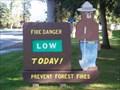 Image for Smokey Bear - Fernan Ranger Station - Coeur d'Alene, ID