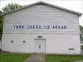 Image for York Lodge #12 Fellowship Hall - Bristol, Virginia