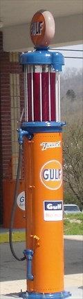 Image for Gulf Gasoline Pump  -  Tazewell, Tennessee