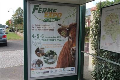 Une belle affiche pour un événement important en Indre et Loire
