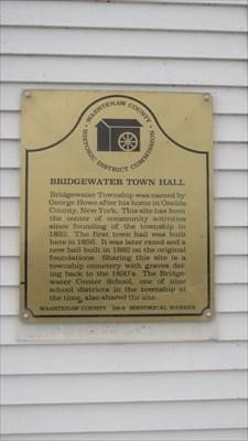 veritas vita visited Bridgewater Town Hall - Washtenaw Co. Historical Marker