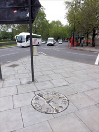 Tyburn Tree Marble Arch London Uk Uk Historical