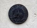 """Image for BM0580 - """"502.23 USGS=502.1=508"""" bench mark disk - Austin, TX"""