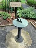 Image for Founders Garden Sundial, Piscataway, NJ