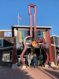 Hard Rock Cafe Entrance, San Francisco, California
