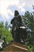 Image for ONLY - Statue of Columbus With a Beard in US - St. Louis, MO