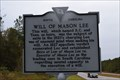Image for Grave of Mason Lee/Will of Mason Lee SCHM 35-21